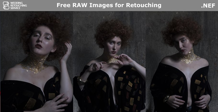 Free raw images for retouching