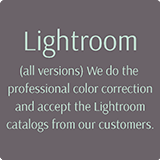We use LightRoom for wedding photography editing