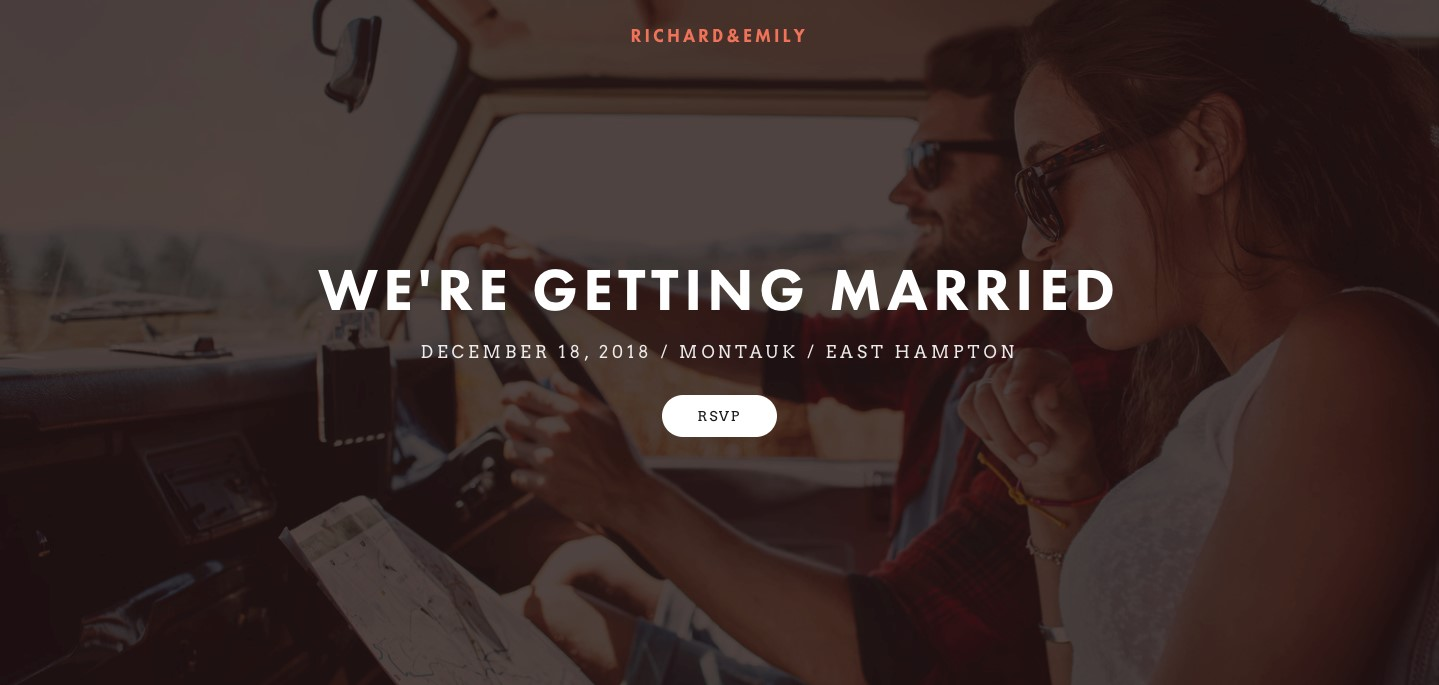 squarespace wedding website builder