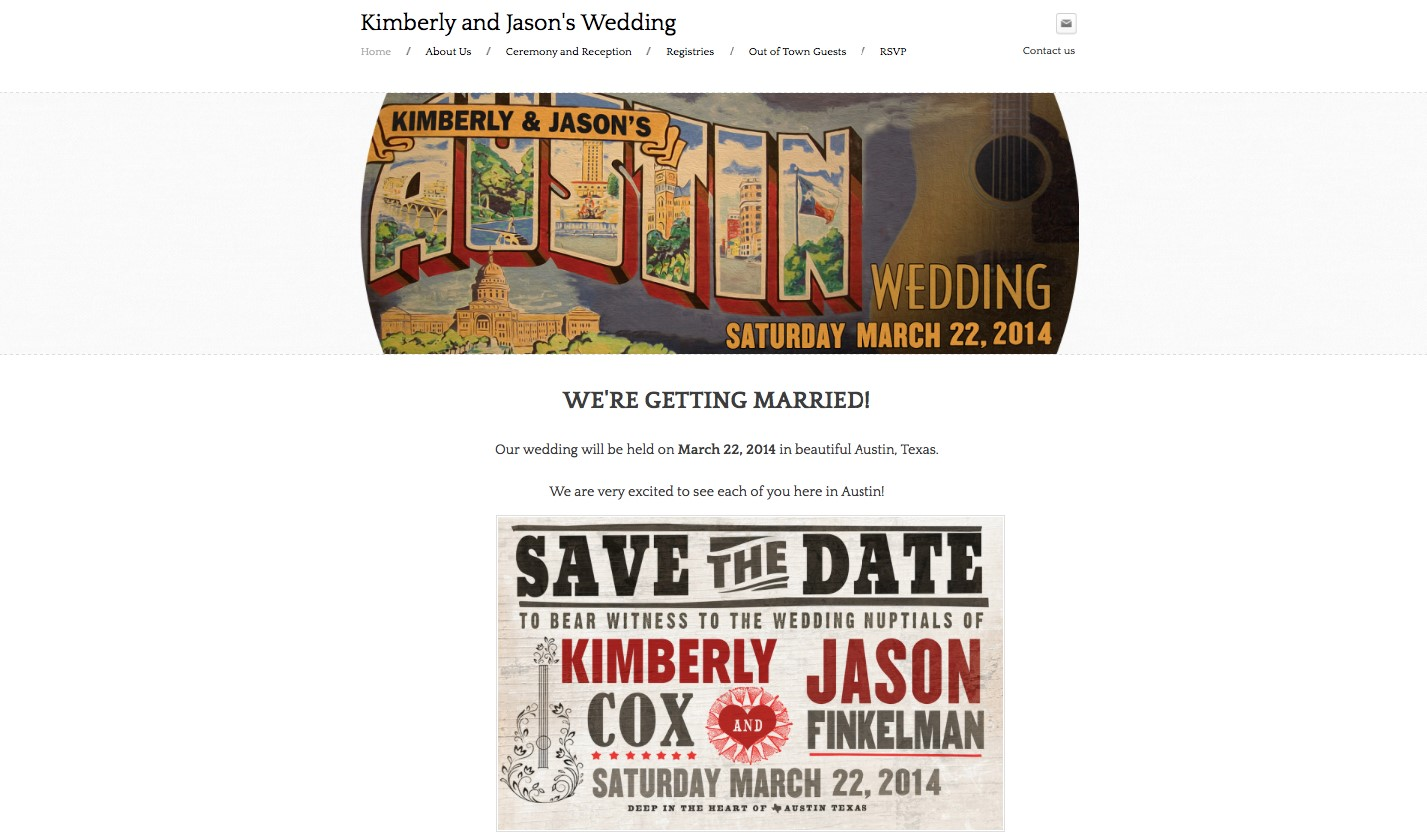 weebly wedding website builder