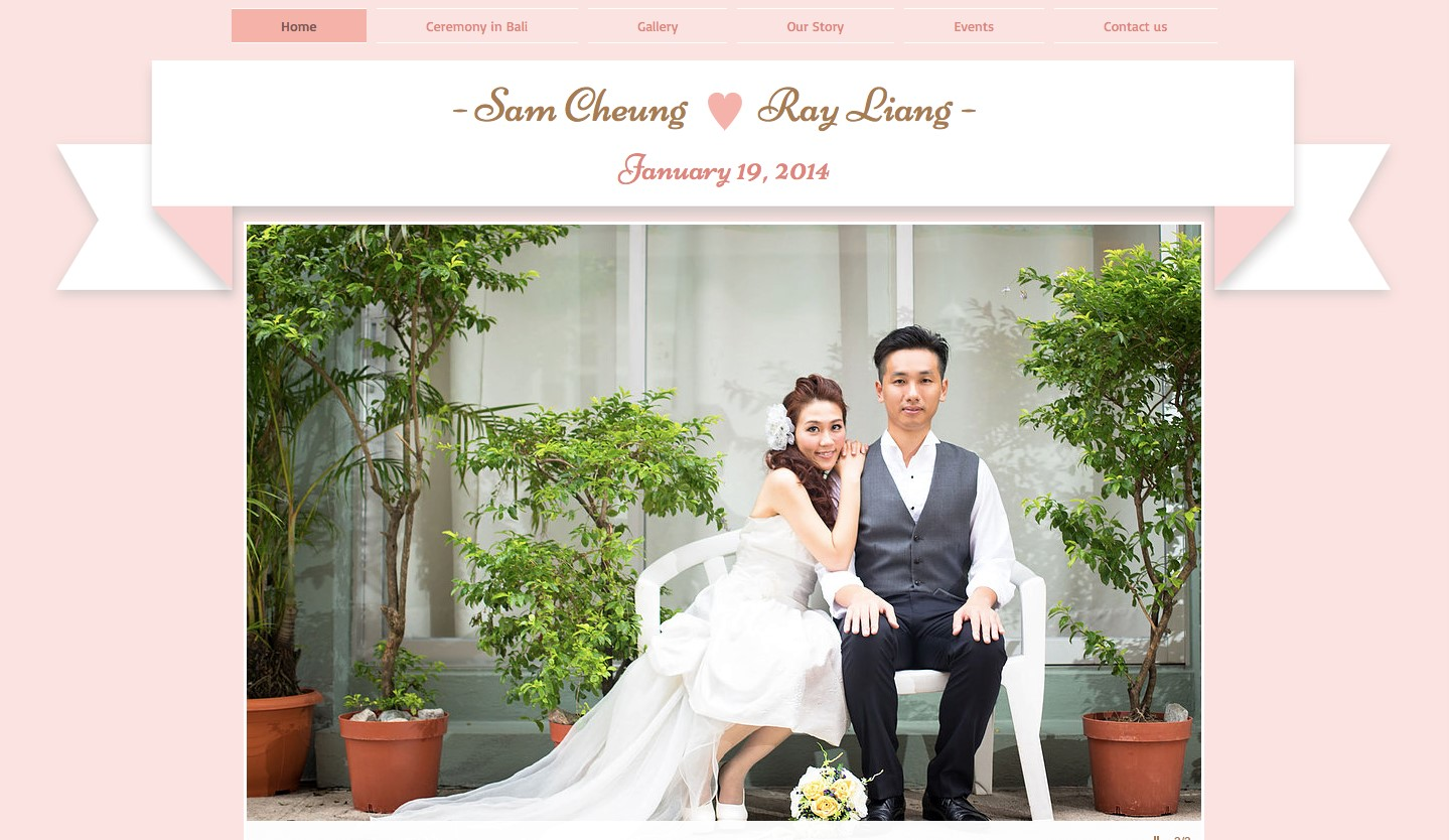 wix wedding website builder