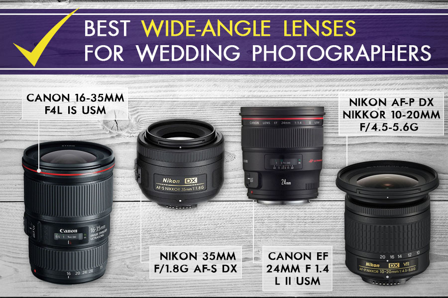 Best Wide-Angle lenses for Wedding Photographers