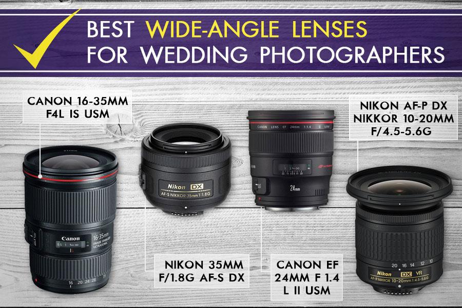 Best lens for wedding photography - versatile lenses