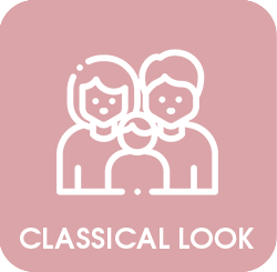 Classical look