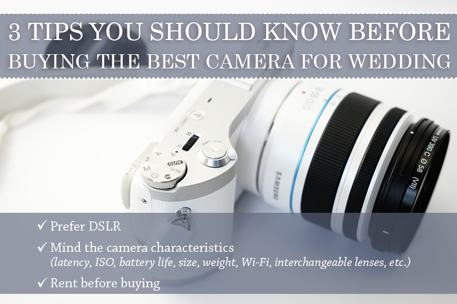 best camera for wedding photography tips